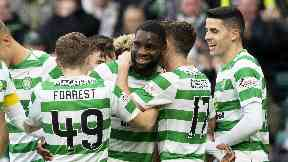 Odsonne Edouard scored twice in Celtic's win.