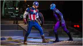 Hero: Captain America will take on Nebula.