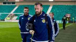Return: Steven Fletcher is back in the Scotland squad.