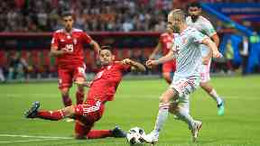 Target: Celtic are keen on Mohammadi (left).