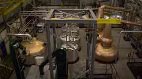 Distillery: Developed using 3D technology.
