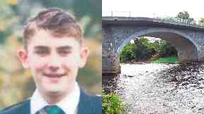 Police: Divers searched the River Dee.