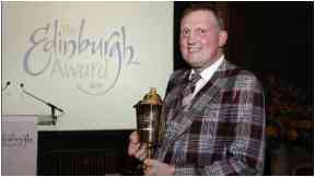 Winner: Doddie with Edinburgh Award.