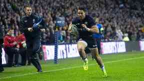 Return: Sean Maitland is back fit for Scotland.