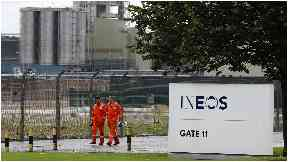 Grangemouth: Ineos has backed the proposed Brexit deal.
