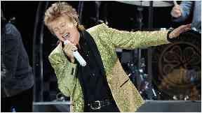 Superstar: Rod Stewart will perform two dates in Glasgow.