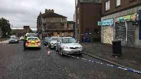 Investigation: Radnor Street in Clydebank.