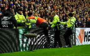 Rangers: He was arrested at match.