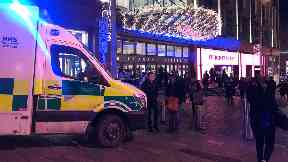 Buchanan Galleries: Shops closed after man's death.