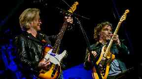 Glasgow gig: Daryl Hall and John Oates.