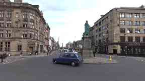 Edinburgh: A man was allegedly jumped in the city centre.