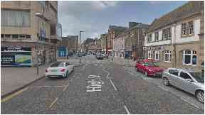 Dalkeith: The man was struck in the High Street.