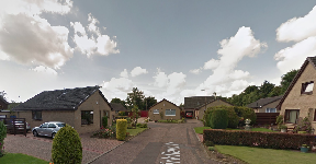 Kirkfield Place: Masked robbers targeted house.
