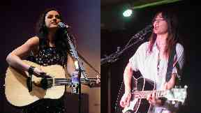 Sleep in the Park: Amy Macdonald and KT Tunstall.