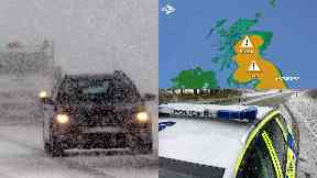 Snow: Major travel disruption is expected.