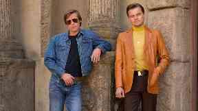 All-star: The cast includes Brad Pitt and Leonardo DiCaprio.