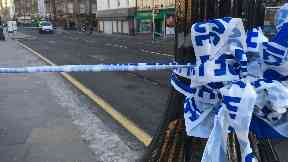 Dundee: Road cordoned off by police.
