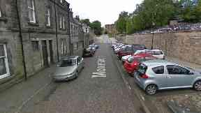 Dunfermline: Man seriously injured.