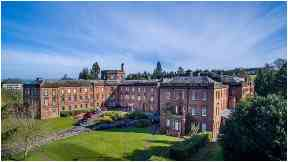 Crichton Hall: To be transformed into hotel.