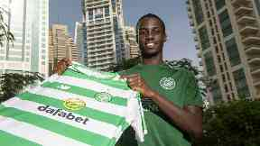 Recruit: Weah is one of three Celtic signings this month