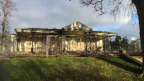 Aberdeen: Westburn House in Westburn Park.