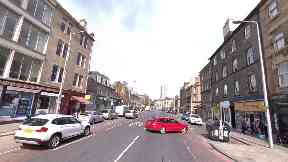 Edinburgh: The pensioner was struck on Leith Walk.