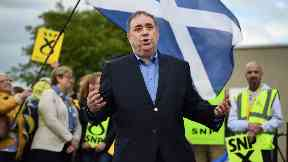 Police: Officers have charged Alex Salmond.