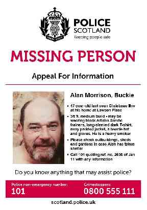 Missing: A police appeal.