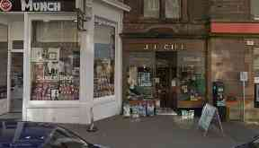 Crieff: J.L. Gill Whisky Shop was targeted.