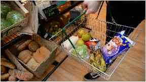 Food: The store has a wide-range of foodstuff available.