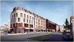 Leith Walk: Hotel plans rejected.