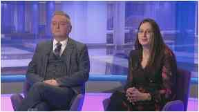 Debate: Mr Ross and Ms Rennie appeared on the show.