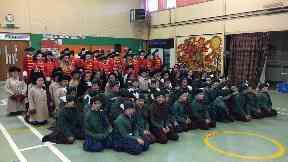 Opera: Baljaffray Primary School pupils enjoyed performing.