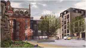 Sciennes Road: Former children's hospital to make way for student accommodation.