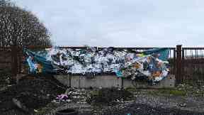 Glasgow: The artwork was created in collaboration with Offspace Offspace.