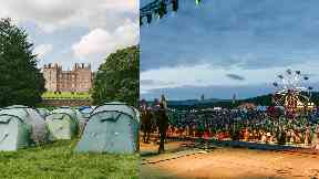 Estate: The festival takes place at Drumlanrig Castle.