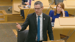 Derek Mackay Scottish Budget February 21 2019.