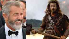 Superstar: Mel Gibson is coming to Glasgow.