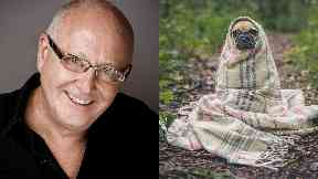 Calm: Trevor Sorbie said owning a dog has helped with his depression.