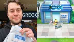 Viral: Callum O'Dwyer was given a £10 voucher from Greggs for his tweet.