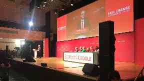 Dundee: Labour leader Jeremy Corbyn.