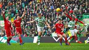 Celtic and Aberdeen played out a draw at Parkhead.