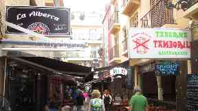 Benidorm: A fight broke out on the Costa Blanca.