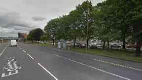 Eglinton Street: Girl was struck by car.