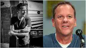 Kiefer Sutherland: Has a special connection to Glasgow.