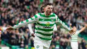 Burke scored four goals in his spell at Celtic.