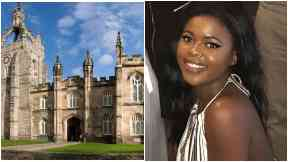 Aberdeen University: Samantha was racially abused by man in club.