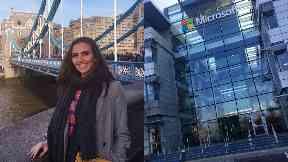 Success: Laura Maclean has bagged a job with Microsoft.