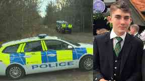 Found: The body of Liam Smith was recovered in woodland.
