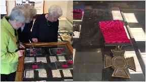 Rare Victoria Cross medals unveiled at Highlanders' Museum